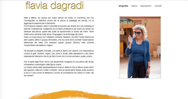 Flavia Dagradi - Biografia
