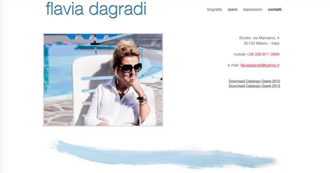 Flavia Dagradi - Contatti