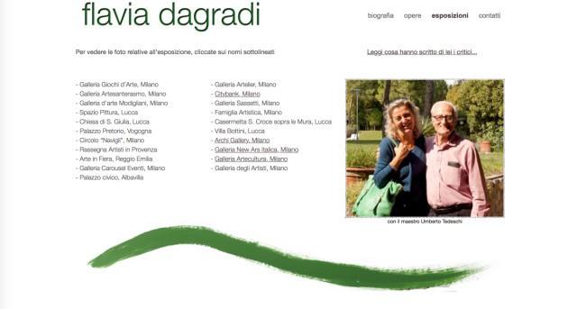 Flavia Dagradi - Esposizioni