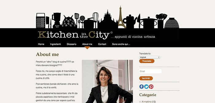 Kitchen In The City About
