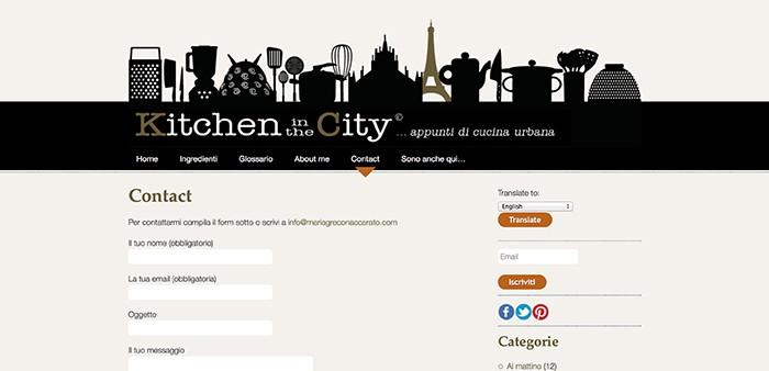 Kitchen In TheCity Contatti