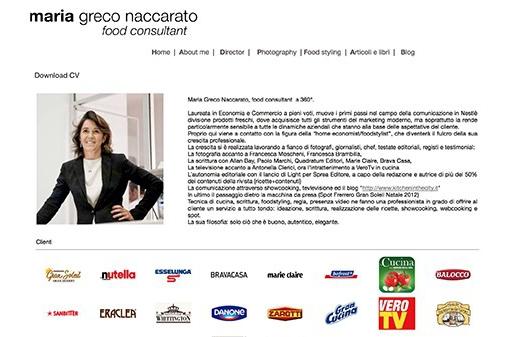 Maria Greco Naccarato - About
