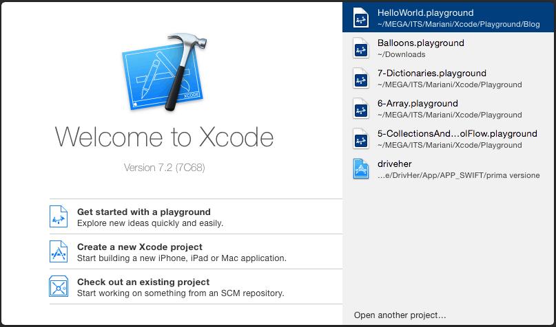 Xcode7.2