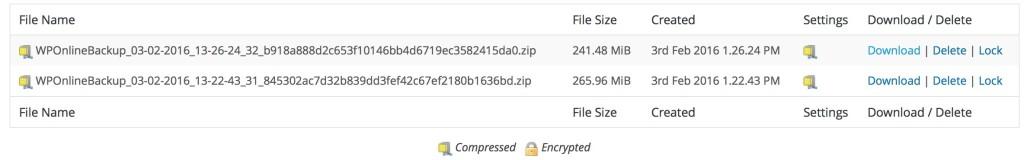 Dimensione archivio totale, prima e dopo. Una bella differenza!