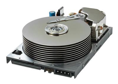 HDD vs SSD: Interno di un disco HDD tradizionale