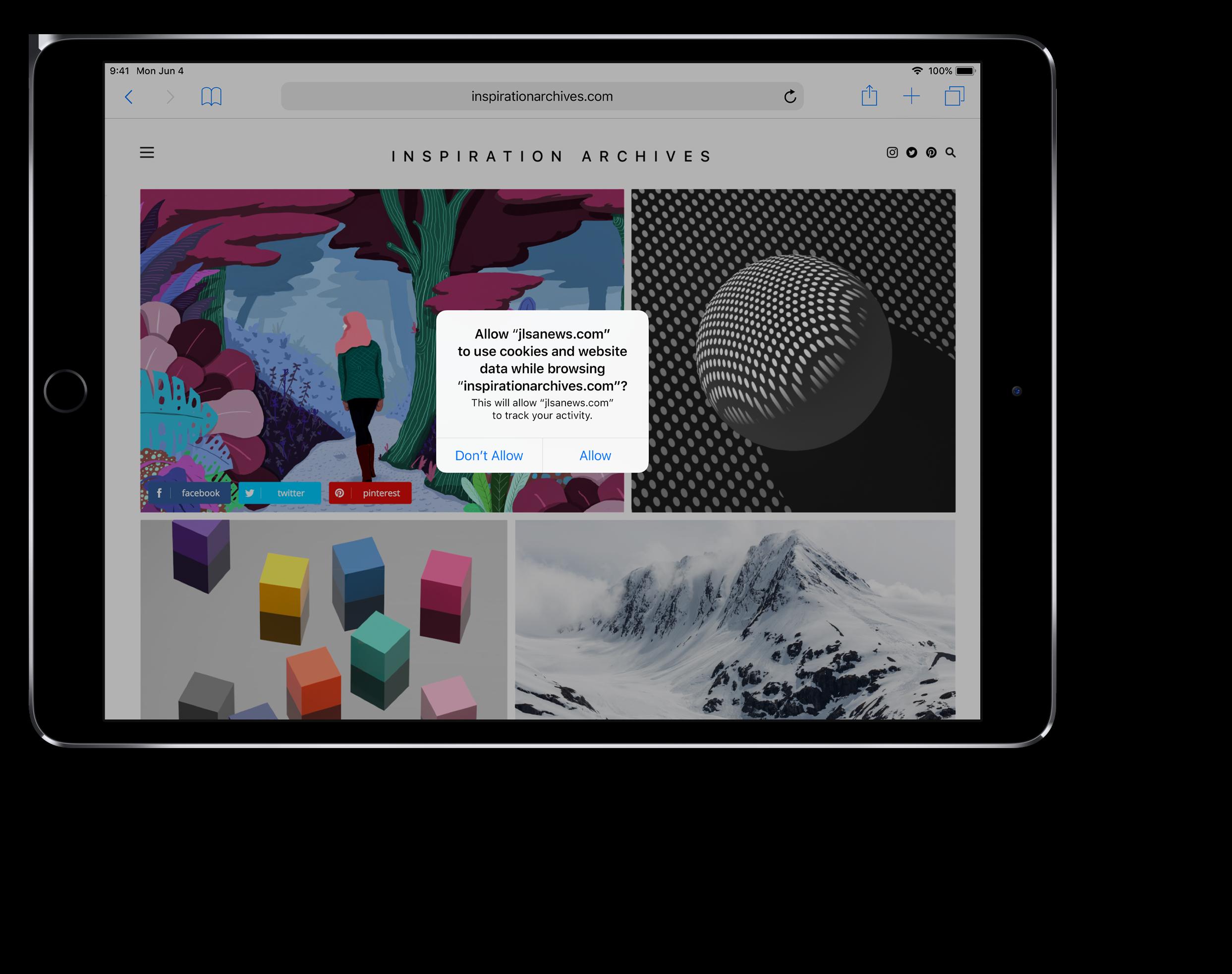 iOS 12 privacy