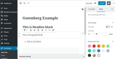 Gutenberg o non Gutenberg