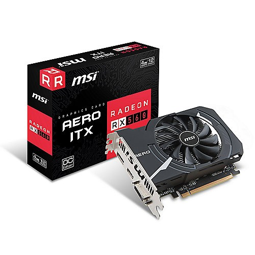 MSI V809-2467R Radeon RX 560 4GB GDDR5 scheda video