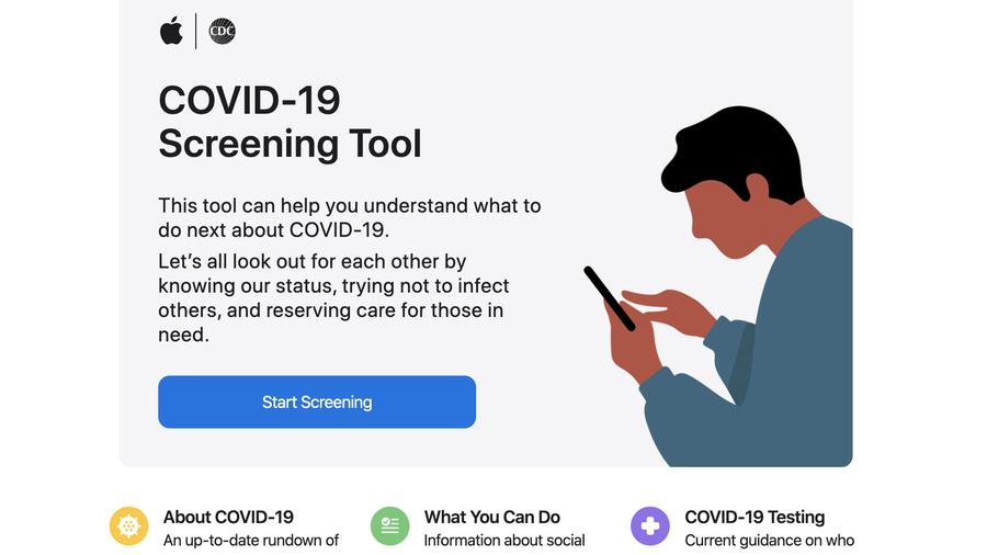 Apple presenta un sito per capire il Coronavirus