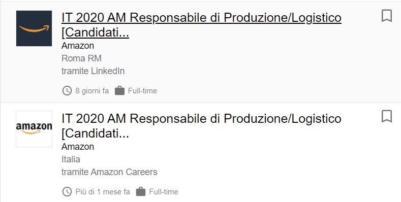 Signorsì, signor Amazon