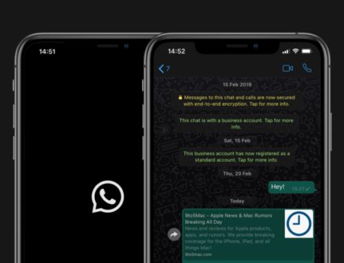 Whatsapp e dark mode