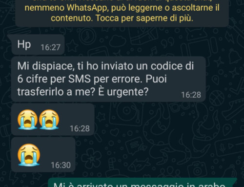 Attenzione al nuovo virus di Whatsapp